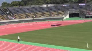 2013IH陸上北九州地区予選 女子4×400mリレー決勝