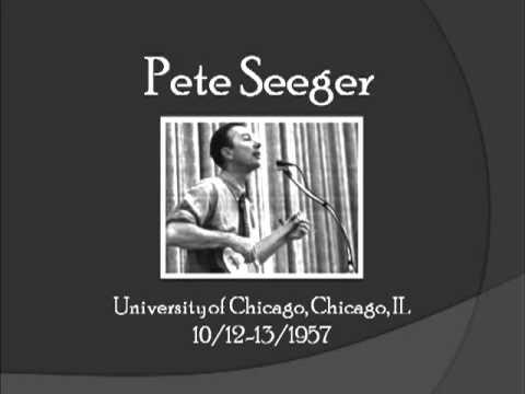 【TLRMC001】 Pete Seeger  10/12-13/1957