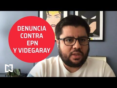 Lozoya presenta denuncia con EPN y Videgaray
