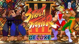 STREET FIGHTER III DELUXE - PC LONGPLAY - SHENG LONG and Evil-Ryu Playthrough (TEAM ARCADE MODE)