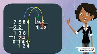 Divisão de números decimais