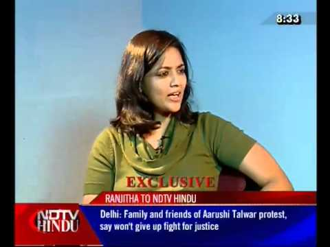SURVIVING A SCANDAL  1 (3) - EXCLUSIVE WITH RANJITHA - NDTV HINDU