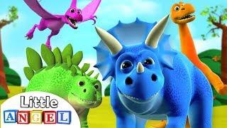 La Chanson Des Dinosaures | Comptines par Little Angel - Français