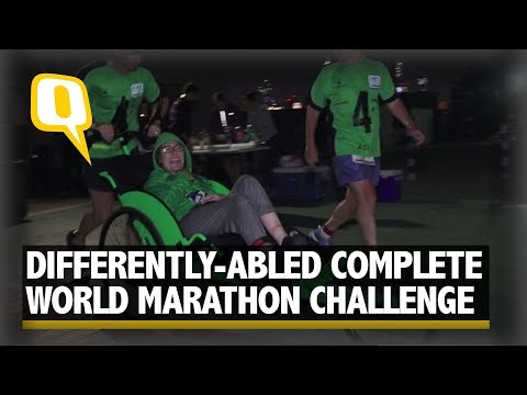 Differently-Abled Wins World Marathon In 7 Countries | The Quint