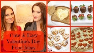 ♡ Cute & Easy Valentine's Day Cooking Ideas ♡ | Blair Fowler Thumbnail
