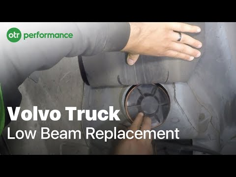 Volvo Truck Low Beam Replacement | How To | OTR Performance