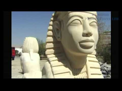 The Alabaster Factory  - Egyptian Stone Carving Master Abdul Hamid