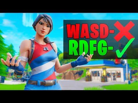 The Reason I Use 'RDFG' Over 'WASD' In Fortnite (1 Week Progression)