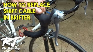 How To Replace Shift Cables In STI Shifters/Brifters (Combined Brake/Shifters)