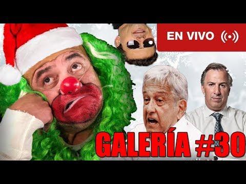GALERÍA #30: LEY DE SEGURIDAD INTERIOR, PRECANDIDATOS Y EQUIDAD DE REDES