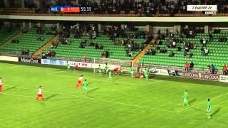 Europa League 1516   Barrage Aller  Milsami Orhei vs ASSE 1 1