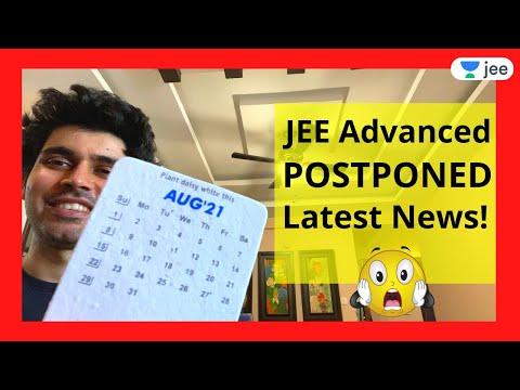 JEE Advanced Postponed Latest News! | Unacademy JEE | Namo Kaul