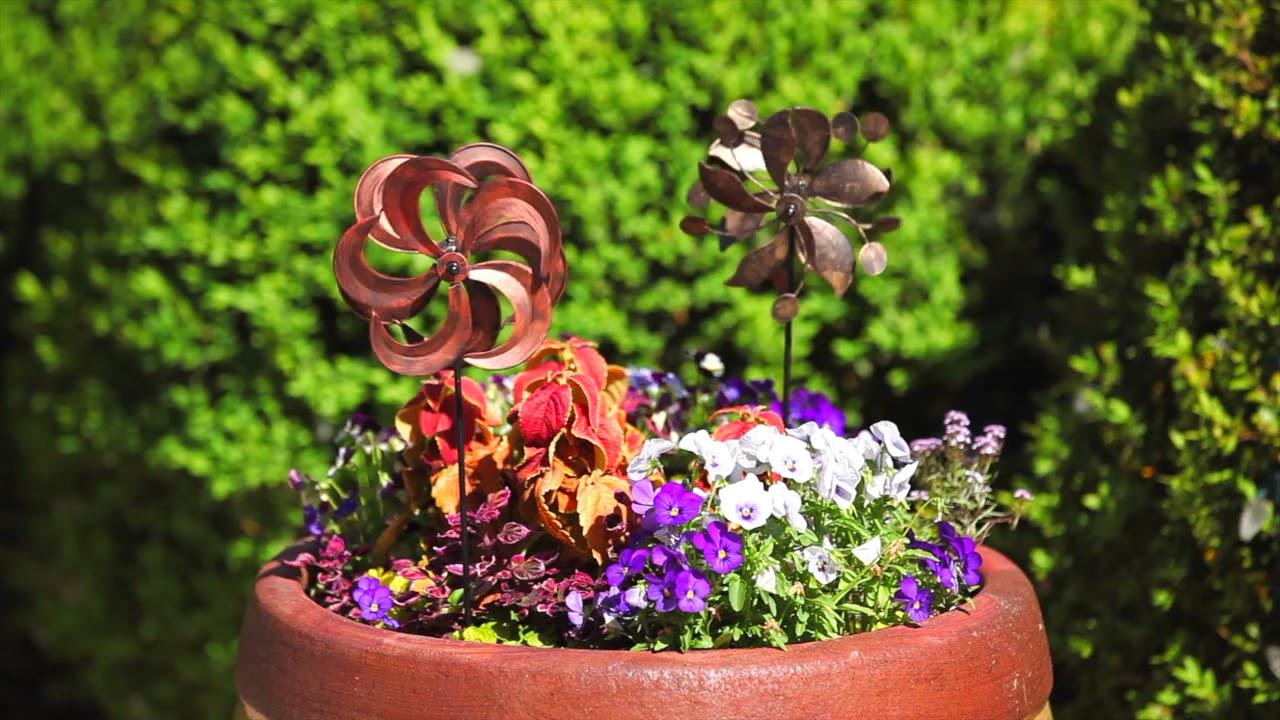 Genial Kinetic Spinners From Evergreen Garden