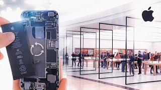 Esto cuesta cambiar la batería del iPhone en Apple