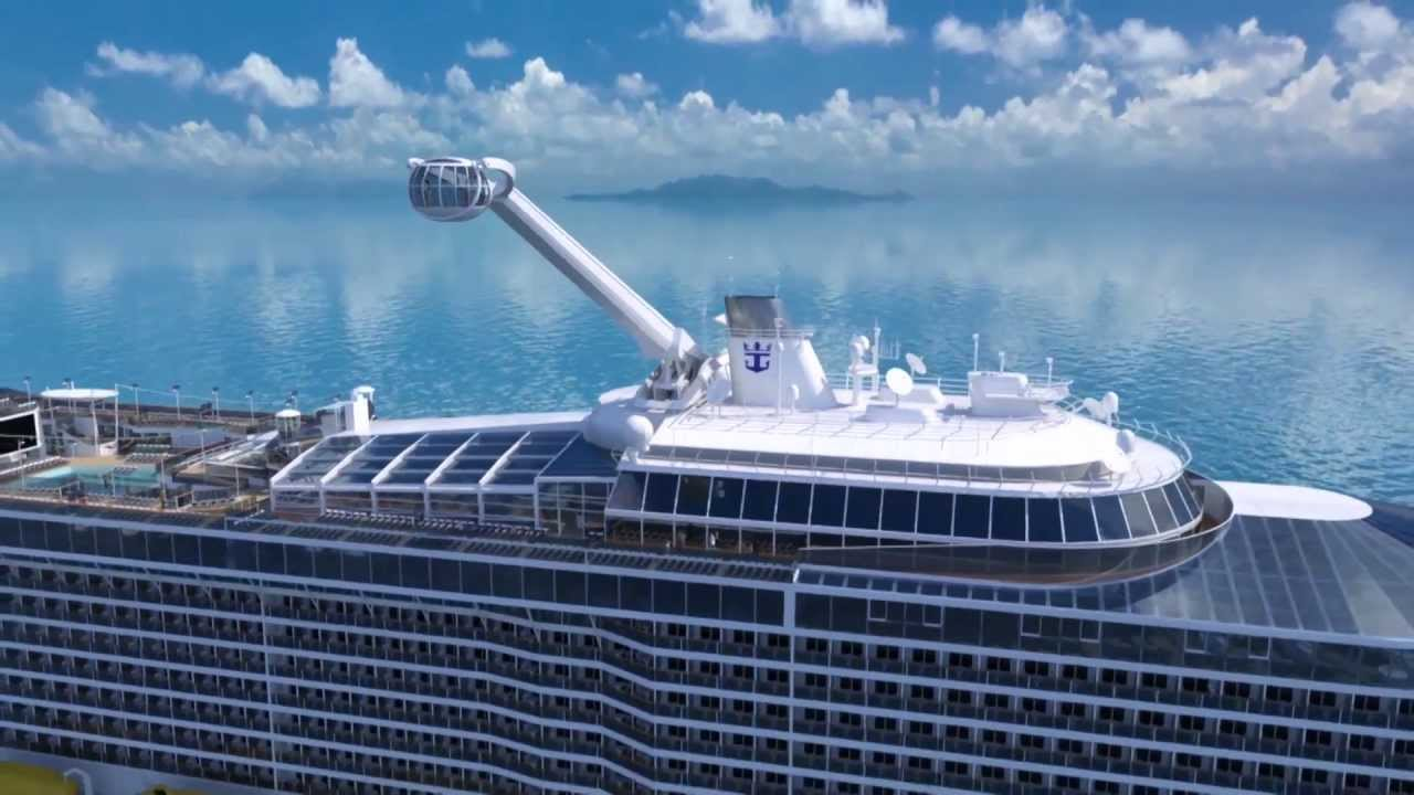 Quantum Of The Seas North Star A Bird S Eye View Youtube