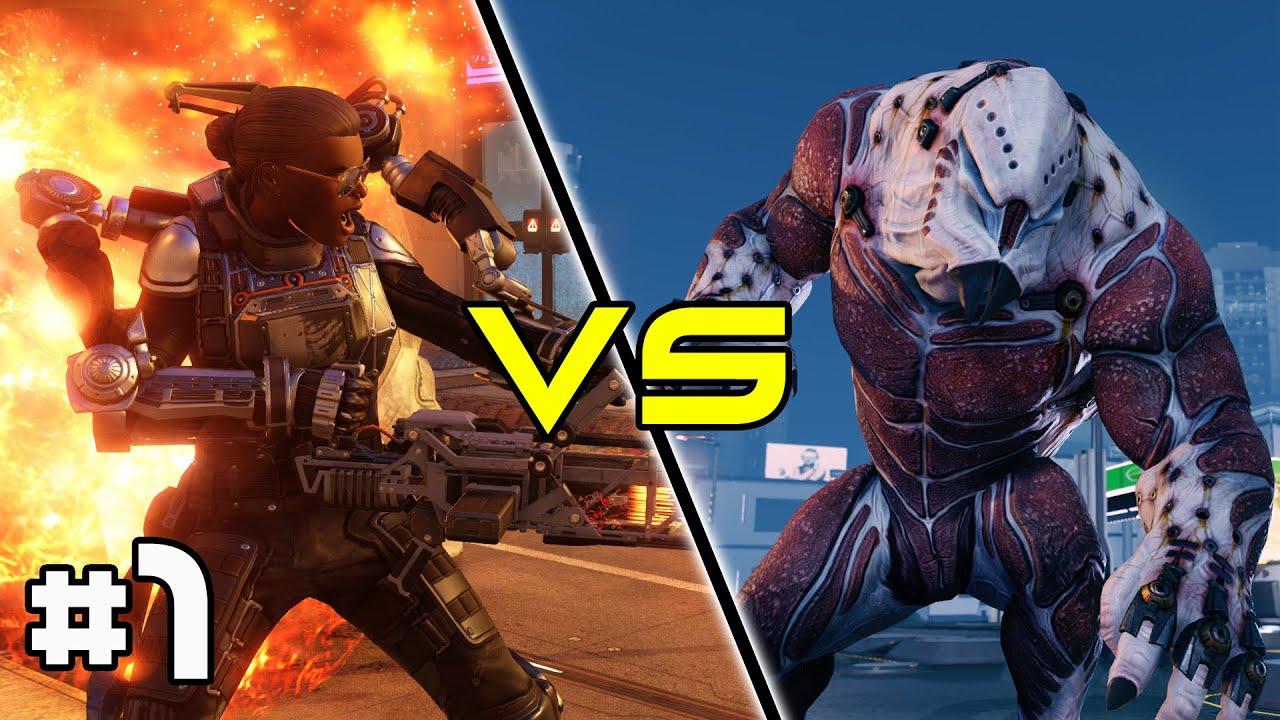XCOM 2 Multiplayer - Aliens vs Humans! #1 - YouTube