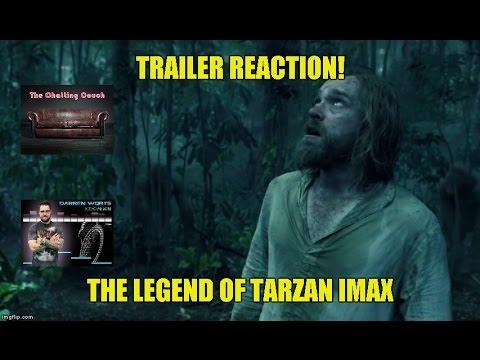 The Legend of Tarzan IMAX Trailer Reaction...