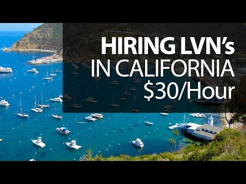 Looking For LVNs - $30/an hour - California