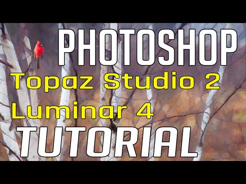 Photo Painting Full Edit Tutorial- Photoshop, Topaz Studio 2 and Luminar 4 thumbnail