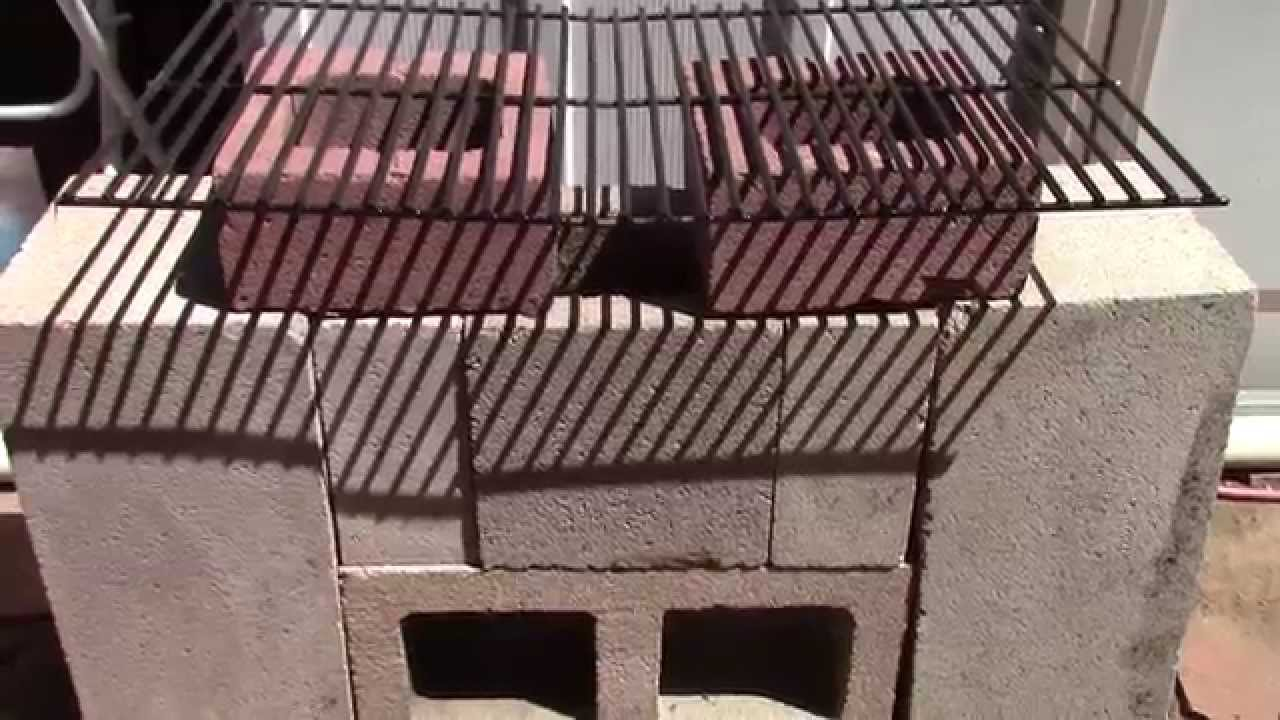 How to make an easy brick rocket stove wood fired pizza for How to make a rocket stove with bricks