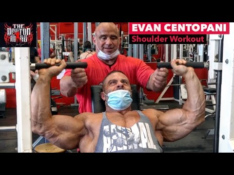 Evan Centopani Shoulder Workout