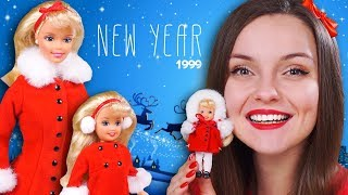 ЧТО ПОД ПАЛЬТО?😱Новогодний обзор и распаковка Holiday Sisters 1999   Новый Год, Рождество