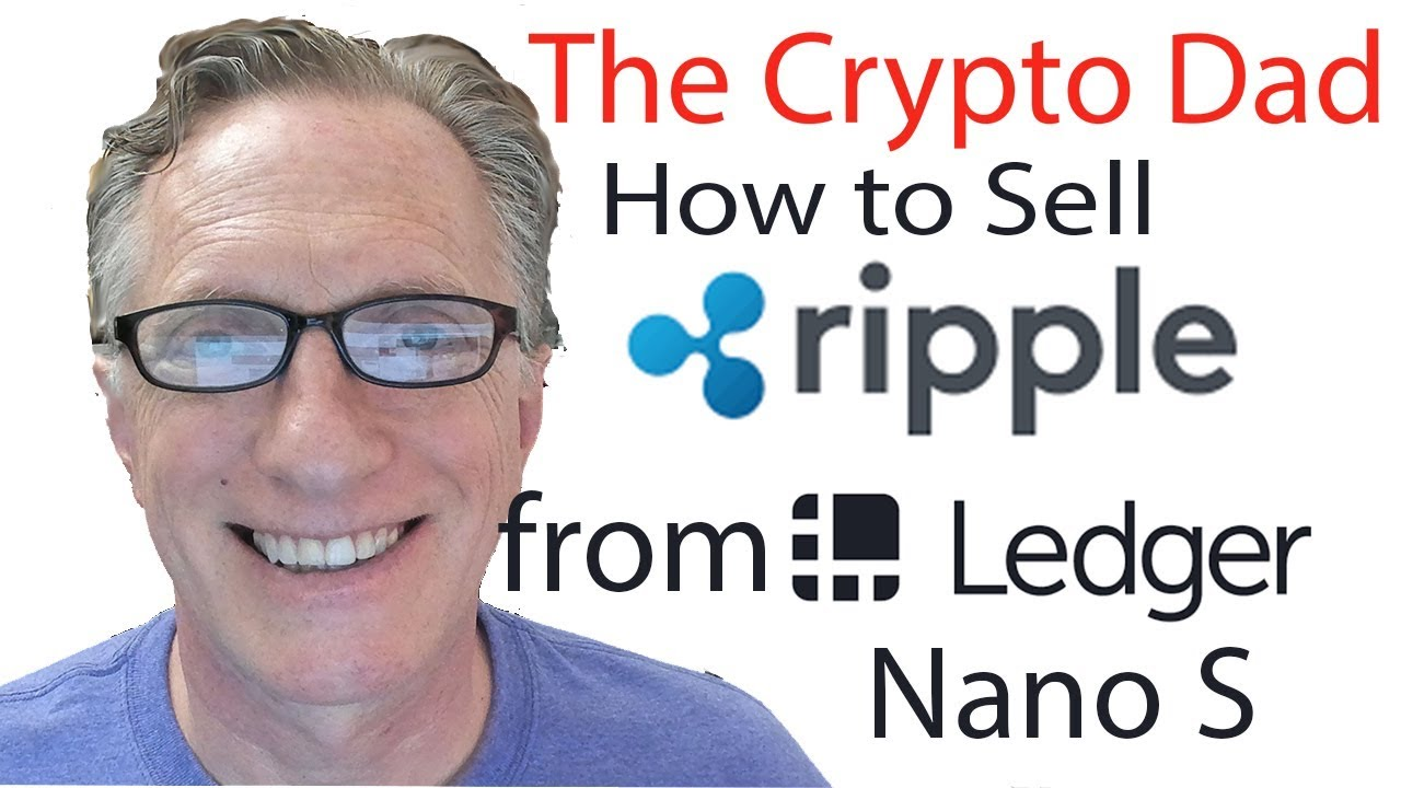 how to sell cryptocurrency from ledger nano s
