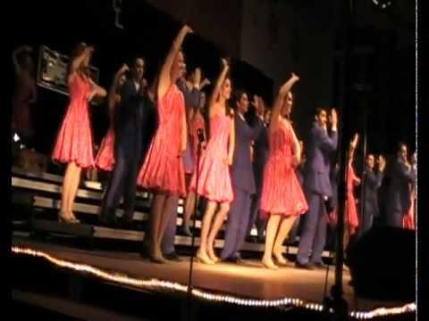 Vocal Chords High School Show Choir Of Danville Iowa Performs