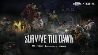 ZOMBIES!! PUBG Mobile x Resident Evil 2 'Survive Till Dawn' // Zombie Mode // PUBG Mobile