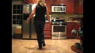 Cowboy Cha Cha line dance (walk-through)