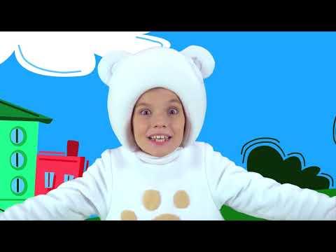 МАЛЕНЬКИЕ ДЕТИ - ТРИ МЕДВЕДЯ - Three bears sons Развивающая песня мультик для малышей про доброту