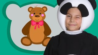 МАЛЕНЬКИЕ ДЕТИ - ТРИ МЕДВЕДЯ - Three bears song Развивающая песня мультик для малышей про доброту