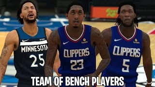 Can The Best Bench Players In The NBA Win An NBA Chamnpionship? | NBA 2K19