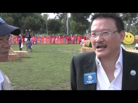 """Thị Trưởng Michael Võ - Lễ Hội """"Easter Egg Hunt"""" Được Tổ Chức Hàng Năm tại Fountain Valley 2014"""