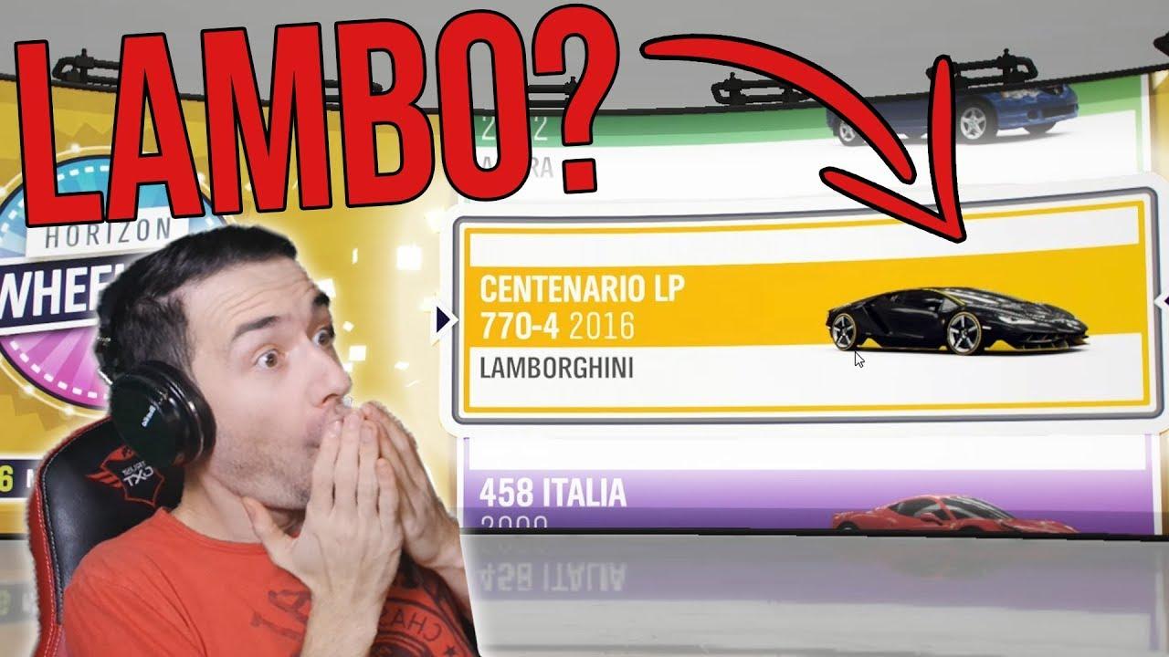 Micsoda LAMBORGHINI 🤑 | Forza Horizon 4 Wheelspin #3