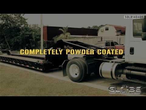 Globe Trailers: 50 Ton Lowboy Steele Truck