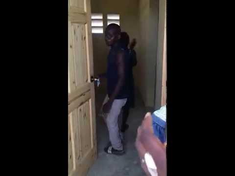 Happy claps in Haiti -- Elvis Dumervil
