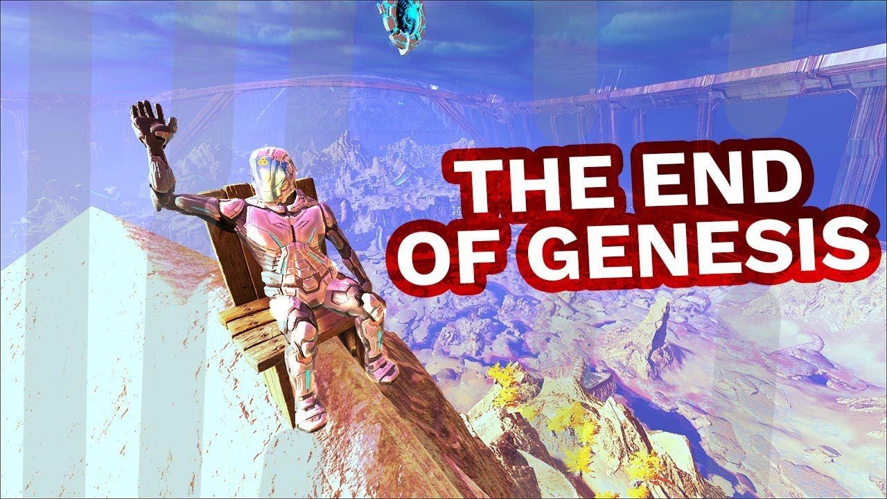 Saying Goodbye To Genesis 2 on Small Tribes - ARK