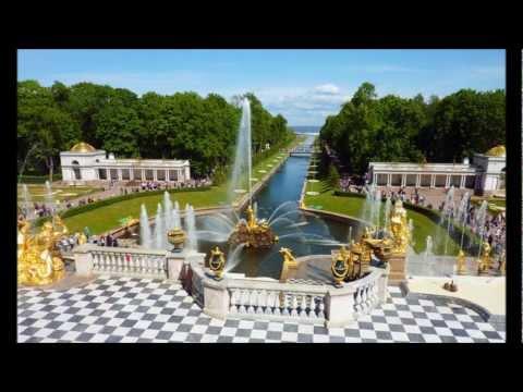 Schloß Peterhof in St.Petersburg