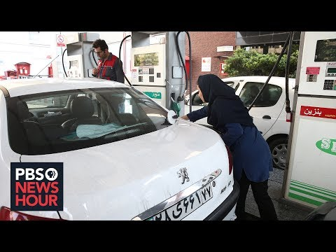 News Wrap: Iran warns people protesting 50 percent hike in gas prices