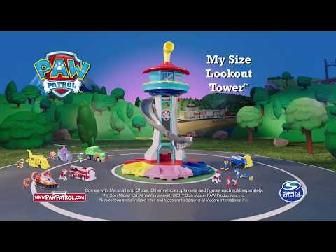 Spin Master - PAW Patrol - My Size Lookout Tower