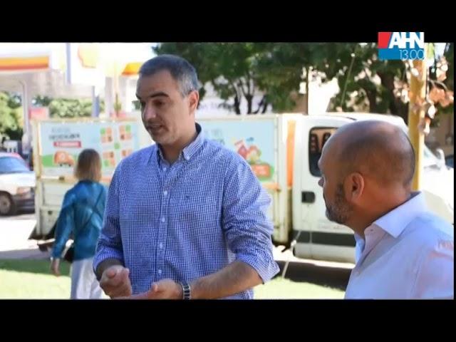 VICTOR AIOLA   COLOCACION DE CAMPANAS PARA RESIDUOS RECICLABLES