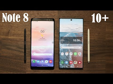 Galaxy Note 10 Plus vs Galaxy Note 8 Should You UPGRADE?