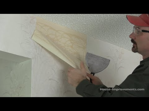 How To Remove Old Wallpaper For Dummies   YouTube
