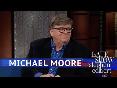 Michael Moore Proposes A Different Wall