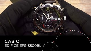 Обзор часов CASIO EDIFICE EFS-S500BL-1AVUEF by DEKA