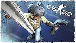 CS:GO в VR: ДУЭЛЬ НА ПИСТОЛЕТАХ!!! #8