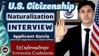 2020 U.S. Citizenship Practice Interview (Ciudadanía Estadounidense Entrevista)