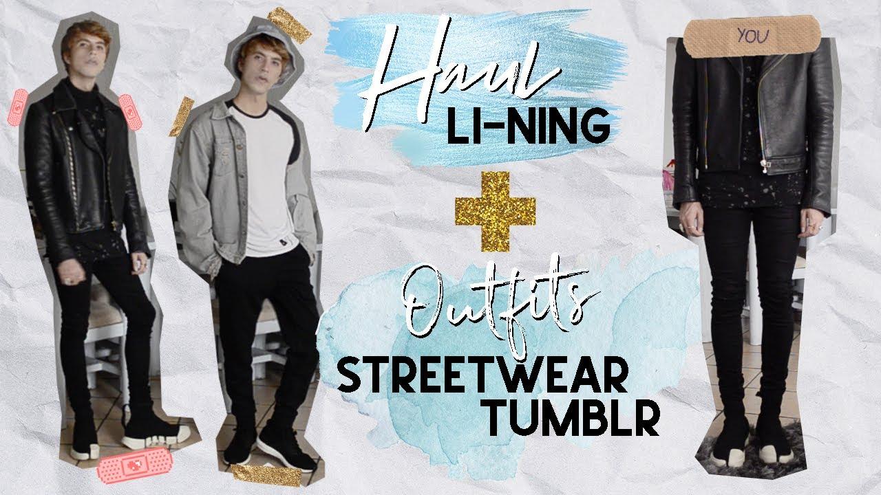 HAUL + OUTFITS Tumblr Streetwear que puedes amar u odiar (preferible amar OK?) | Henry Evia 1