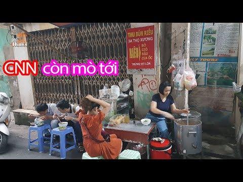 Có gì mà kênh truyền hình Mỹ CNN chọn làm một trong 5 món ngon nhất Hà Nội #hnp